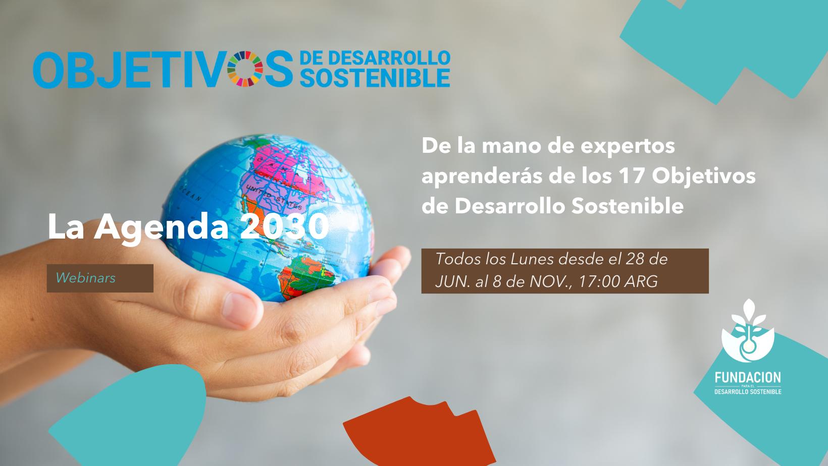 CICLO DE WEBINARS: La Agenda 2030